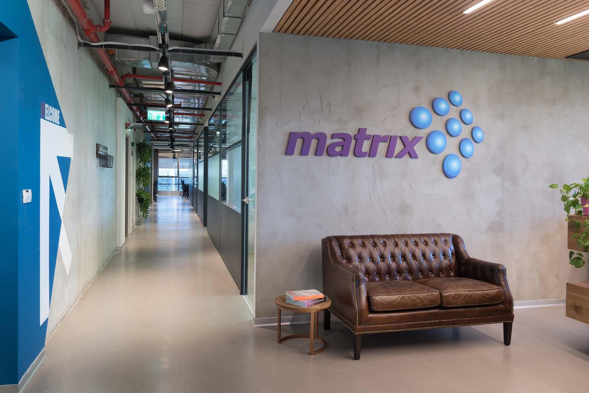 עיצוב משרדי חברת Matrix